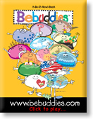 Bebuddies Colloring Book Flash Demo - Custom Flash Design