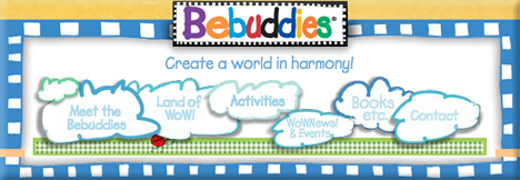Bebuddies - Character Licensing - Custom Flash Web Design