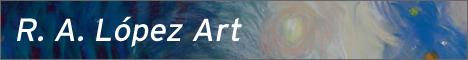 R. A. López Art - Fine Art Portfolio - Custom WordPress Site Design